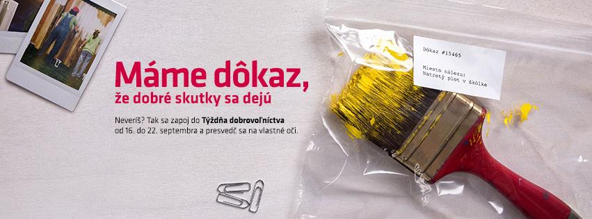 týždeň dobrovoľníctva v Bratislave