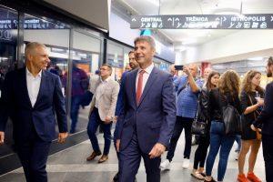 Prehliadka podchodu_Peter Lukeš a Ivo Nesrovnal