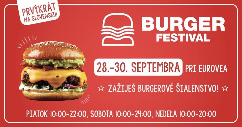 Burger festival Bratislava 2018