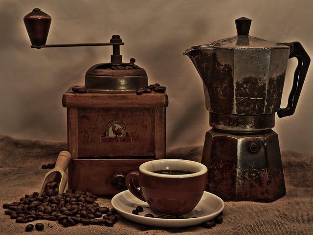 servis kávovarov