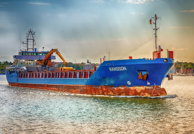 Námorná preprava tovaru