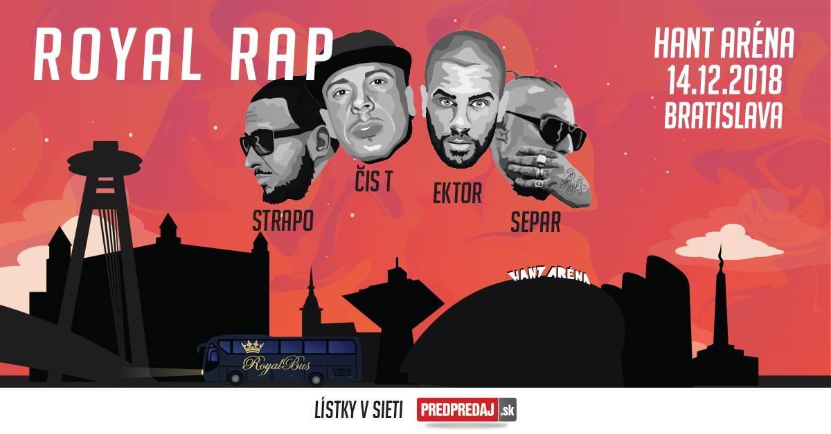 Royal rap Bratislava 2018