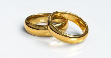 Zlaté svadobné prstene