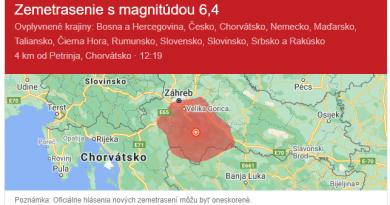 Zemetrasenie Bratislava